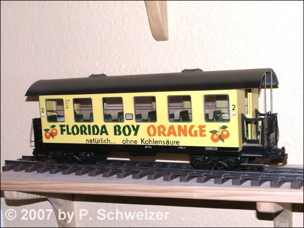 DB Wangerooge Personewagen 2. Kl. (Passenger car 2nd class) - Florida Boy