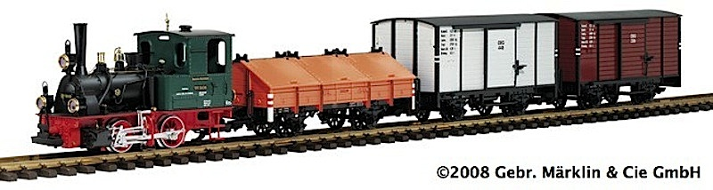 EPL DR Fabrikzug Set (Factory train set) 99 5606