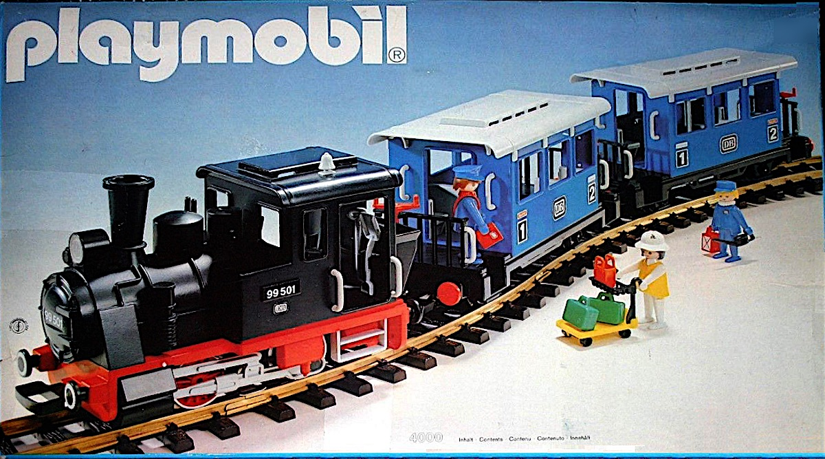 Playmobil - DB Personenzug (Passenger Train)