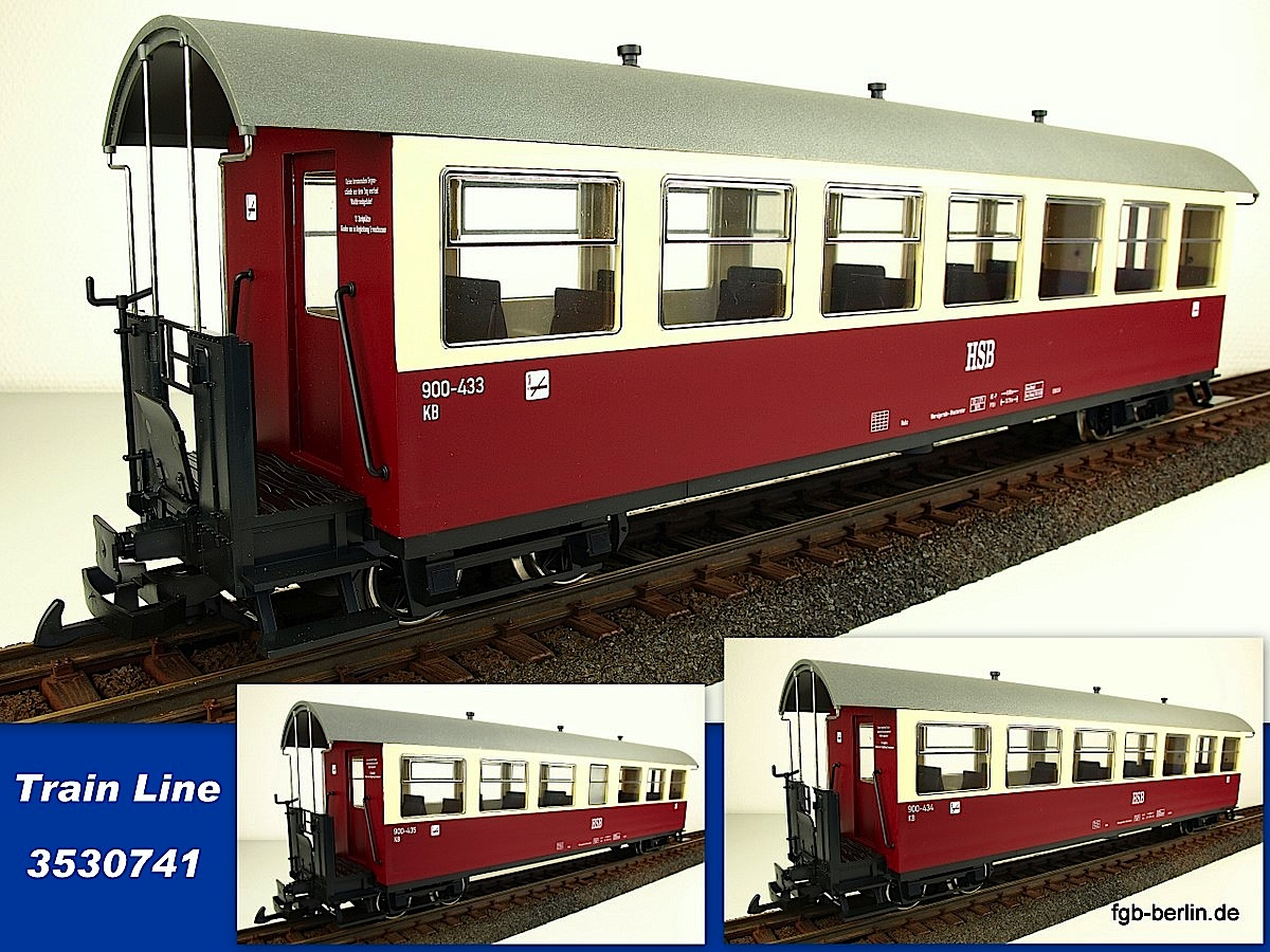 HSB Personenwagen Set (Passenger car set)