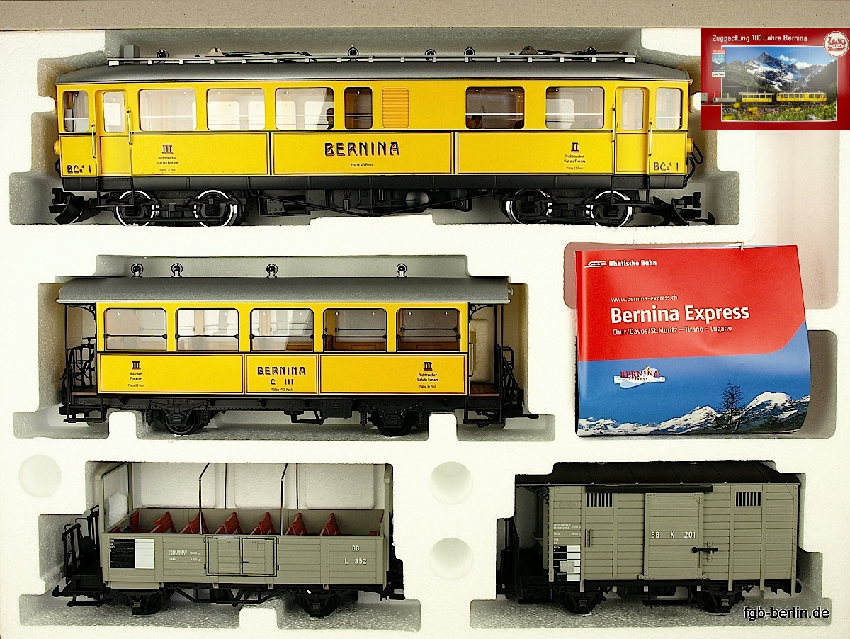 RhB Bernina Zugset (Train set)