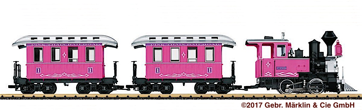 The Pink Train Railroad Starter Set