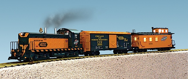 C&NW Train Set