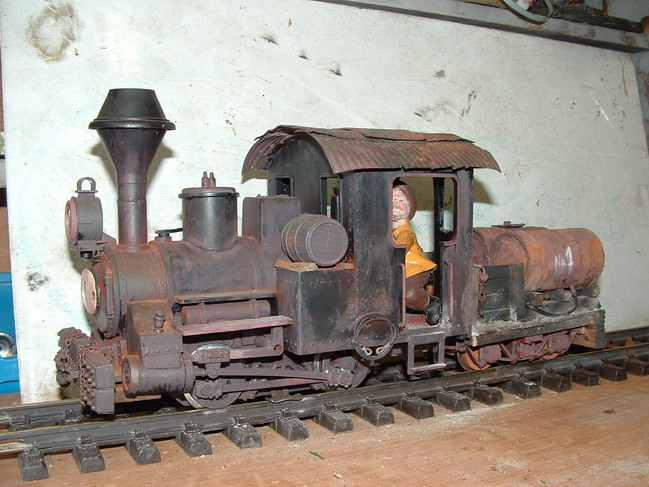Nummer 1 der M.P. & L.R.R. (Engine Number 1 of the M.P. & L. R.R.)