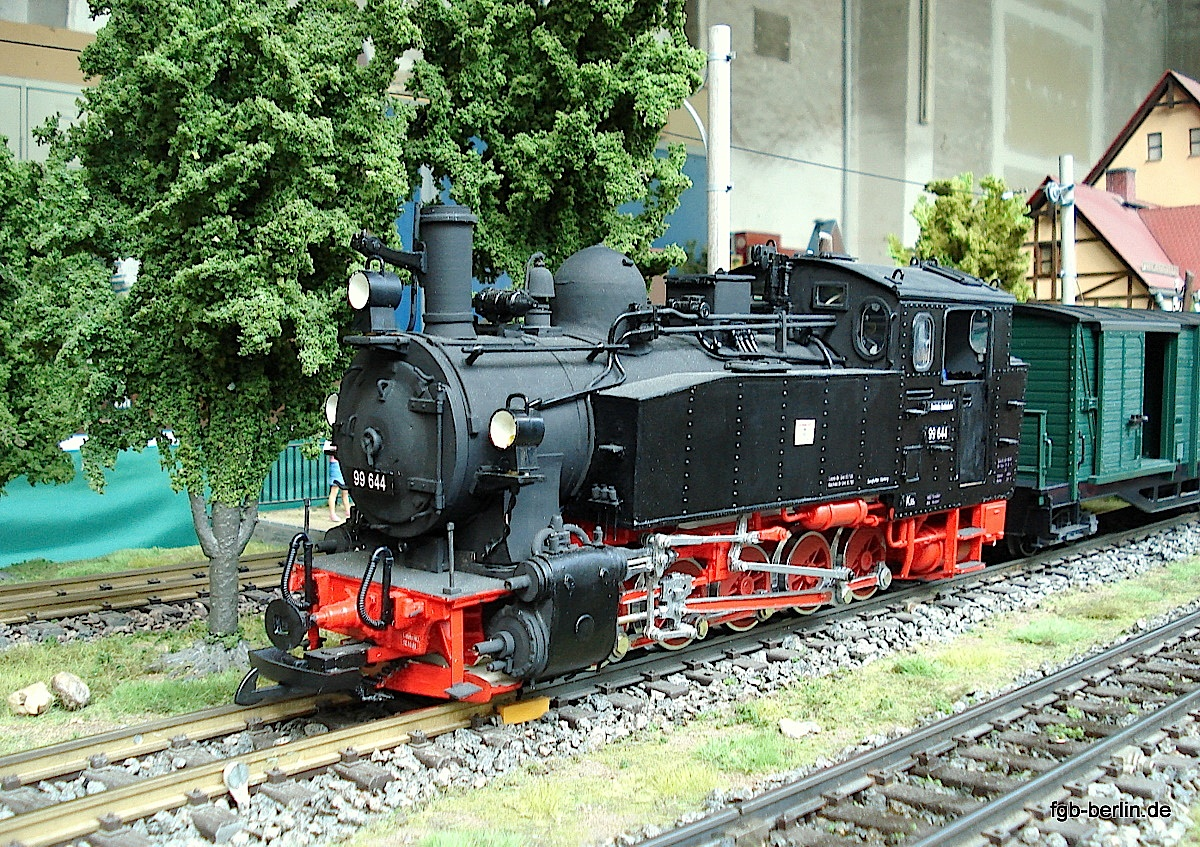 Sächsische Dampflok (Saxon steam locomotive) VIk 99 644