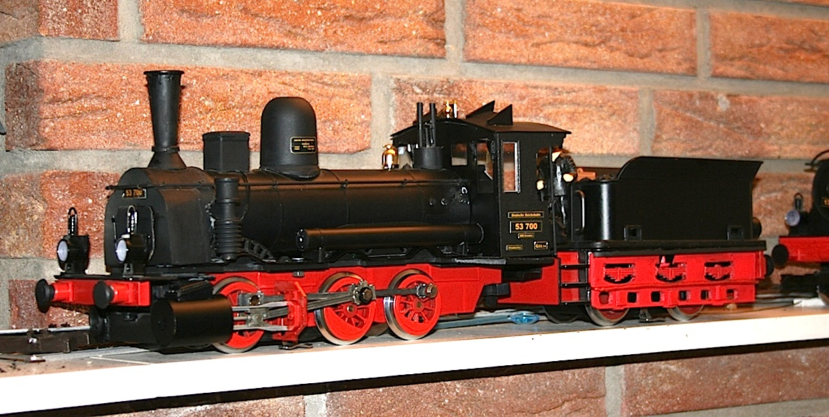 DRG Dampflok (Steam locomotive) BR 53.6-7