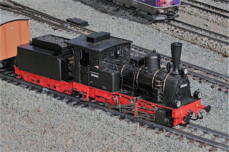DR Dampflokomotive (Steam locomotive) 89 6009