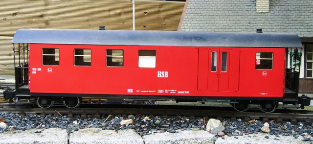 HSB Packwagen (Baggage car) 902-305