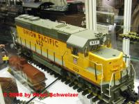 Union Pacific EMD GP-40 Diesellokomotive (Diesel locomotive)