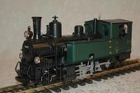 RhB Dampflokomotive (Steam locomotive) G 3/4 11 Heidi