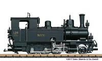 RhB Dampflok (Steam locomotive) LD 1