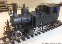 RhB Dampflokomotive (Steam locomotive) G 3/4 1 Rhätia Handmuster - Pre-production
