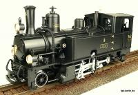 RhB Dampflokomotive (Steam locomotive) G 3/4 8 Thusis