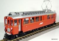 RhB Triebwagen (Rail car) ABe 4/4 32 rechts/right