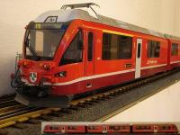 "RhB Allegra Triebzug (Multi-unit rail car) ABe 8/12; 3501 ""Jan Willem Holsboer"""