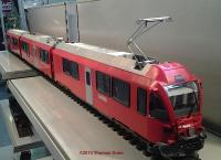 RhB Allegra Triebwagen - Muster (Multi-unit rail car) - sample