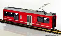 Mittelwagen des RhB Triebzugs (Unpowered middle unit of the 3-unit rail car) ABe 8/12 Allegra 3501