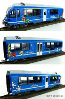 RhB Triebzug (3-unit rail car) ABe 8/12 Allegra 3500 - Chur-Arosa