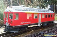 RhB Triebwagen, linke Seite (Rail car, left side) ABe 4/4 II, 46