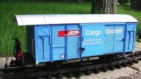 RhB Güterwagen (Box car) Cargo Domizil (Deutsch/German) Gbk-v 5507