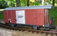 RhB Güterwagen (Box car) Gbk-v 5545