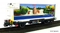 RhB Containerwagen (Container car) Aldi, Lb 7858