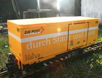 RhB Containerwagen (Container car) Die Post 372