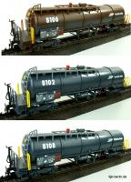 RhB Knickkesselwagenset Za (Tank Car Set, type Za)
