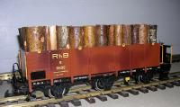 RhB Hochbordwagen (High Sided Gondola) 8532