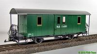 RhB Gepäckwagen (Baggage car) F 4051