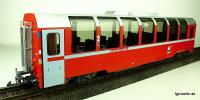 "RhB ""Bernina"" Panoramawagen, 2. Klasse (Panorama car, 2nd class) Bp 2502"