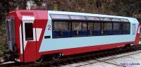 RhB/MGB Panoramawagen 2. Klasse (Panorama car, 2nd class) GEX Bp 2534