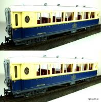 RhB Salonwagenset (Salon car set) As 1143 & As 1144