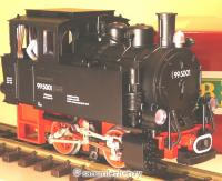 DR Dampflok (Steam engine) 99 5001 Kleine Dicke