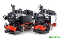 DR Dampflokomotive (Steam locomotive) 99 653 & 99 685