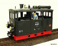 DR Kastendampflok (Steam tramway locomotive) 99 821