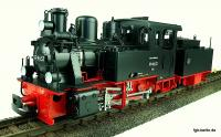 DR Schlepptenderlok (Steam locomotive with tender) 99 4653