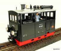 DR Kastendampflok (Steam tramway locomotive) 99 823