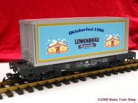 DR Oktoberfest Container Wagen (Container car)