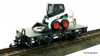 DR Flachwagen mit Ladung (Flat car with load) 99-04-42