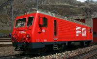 FO E-Lok (Electric locomotive) HGe 4/4 II 102