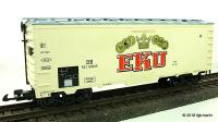 DB Bierwagen (Beer car) 521 696, EKU