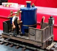 "Max Micro ""Live-Steam"" Dampflokomotive (Steam locomotive)"