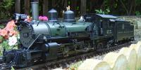 D&RGW K-27 Dampflokomotive (Steam locomotive) 455