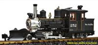 Rio Grande Forney Dampflok (Steam locomotive) #252
