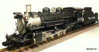Rio Grande Schlepptender Dampflokomotive (Steam locomotive) K 36