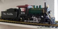 D&RGW Mogul Dampflok (Steam locomotive) 218