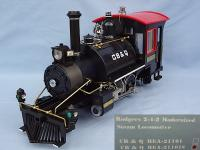 CB&Q Rogers Dampflok (Steam locomotive)
