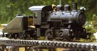 Echt Dampf (Live Steam) Dampflok (Steam locomotive)