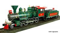 North Pole & Southern Dampflocomotive (Steam locomotive) 12